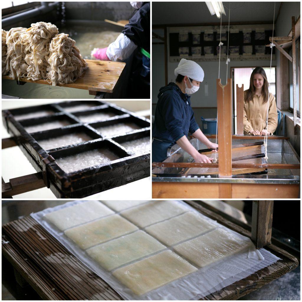 綾部での体験コンテンツ開発のため黒谷和紙の撮影に行ってきました