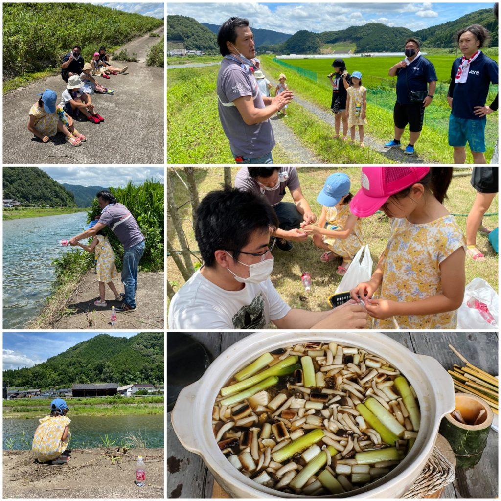 福知山青年会議所御一行様ですっぽん釣り体験&伊東庵ですっぽん料理を楽しんでいただきました!
