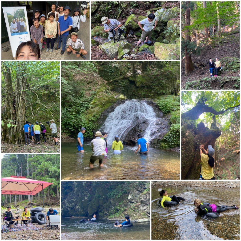 リバートレッキングの撮影に綾部市上林へ行ってきました!